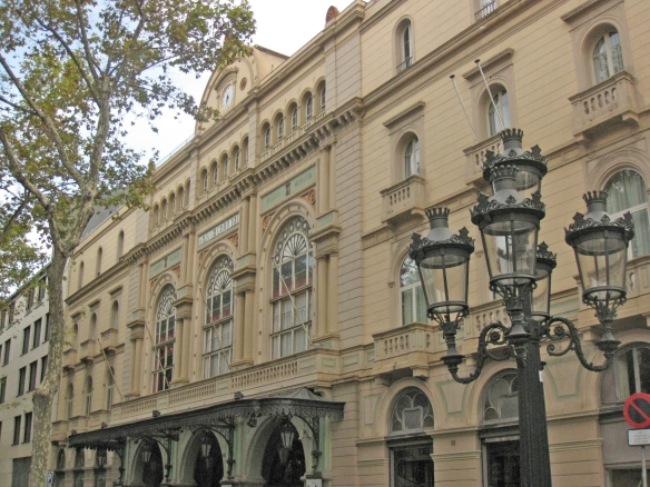 Teatre Liceu Barcelona